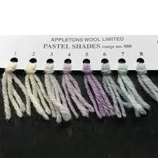 Appletons Wool Shades 881 888