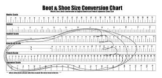Printable Shoe Size Chart Activity Shelter Inside