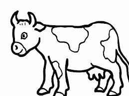 Coloriage A Imprimer Gratuit De Vache 1001 Animaux