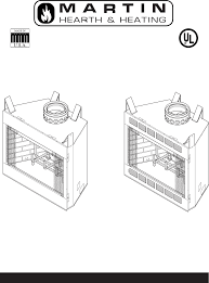 martin fireplaces indoor fireplace 400bwba user s manual