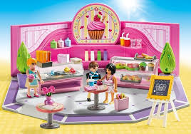 Playmobil City Life Cupcake Shop 9080 Imaginative Role Play