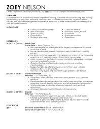 Leadership Resume Samples Shift Leader Trainee Resume Sample