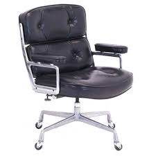 original eames for herman miller time life desk chair on casters for