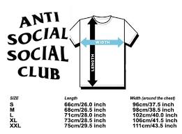 Anti Social Club Shirt Assc Shirt Anti Social Paranoid