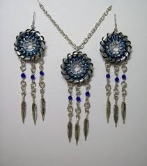 What Store Sells Dream Catchers Dreamcatcher dream catcher necklace earrings chainmail 86