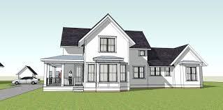 simple yet unique farmhouse plan wrap around porch main home farm houses with porches log cabin
