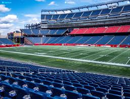 Gillette Stadium One Direction Seating Chart Gillette Stadium Section 128 Seat Views Seatgeek