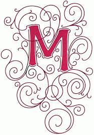 fancy letter m lettering design lettering portfolio fonts hand lettering