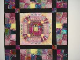247 best Crazy Quilting - Design / Layout ideas images on ... & Fancy Stitchin quilt by Smith Street Designs Adamdwight.com