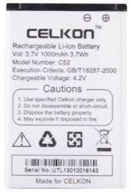 Buy Ksj OEM Battery For Celkon C66+ ...