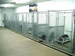indoor outdoor dog kennel plans dog kennel ideas or outdoor for garage winter