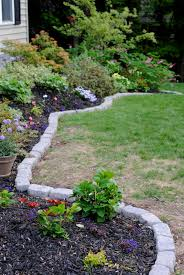 garden borders and edging. Classy Ideas Brick Landscape Border Pin By Michelle Spivey On Diy Garden Related Pinterest Photo Tutorials Beds And Borders Design Edging Landscaping