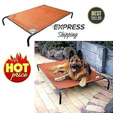 raised dog bed extra large extra large dog bed elevated outdoor raised pet cot indoor durable steel frame extra large raised dog bed uk