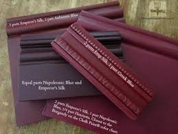 Annie Sloan Chalk Paint Mixing Chart Mixing A Burgundy Color With Chalk Paint Decorative Paint