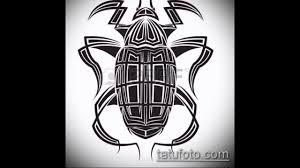 жук скарабей татуировка значение