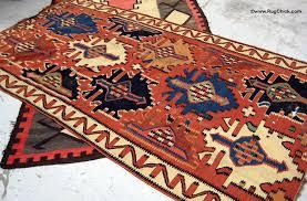 beautiful old kuba kilim