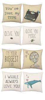 Love inspired throw pillows, romantic puns, valentines gifts, fun, humorous  home decor