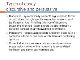 Discursive Essays Examples Discissive Essay
