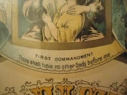 ten commandments wall art a true antique dated the lords prayer ten commandments collectors weekly ml v ten commandments metal wall art