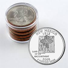 New Mexico Quarter Design 2008 New Mexico Quarter Collector Roll Of 10 5 P 5 D