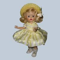 """Fabulous Complete MIB Tagged 1952 Vogue Ginny Doll Square Dancer """"Iva"""" :  Alexander Antiques 