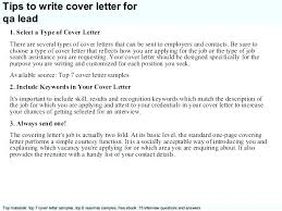 Iseries Qa Tester Cover Letter Afterelevenblog Com