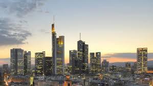 Франкфурт в лучах заката