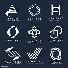 How To Design A Logo For Free Samples Download Premium Vector Of Set Of Company Logo Design Ideas