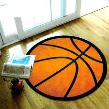 black and orange rug orange rugs for living room soft nylon fabric black stripe basketball geometry black and orange rug