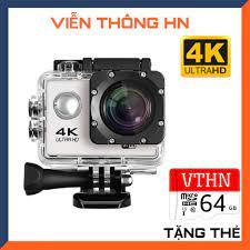 Camera hành trình 4k Sport Ultra HD kết nối wifi - máy quay phim mini chống  nước chống rung xe máy phượt - vienthonghn chính hãng 355,000đ