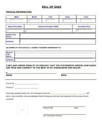 How Do You Make A Bill Of Sale Car Bill Of Sale Printable Pdf Template As Is Bill Of Sale