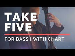 Take Five Backing Track For Bass Youtube