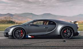 Bugatti's engineers stiffened up the front springs by 65% and the rear. Bugatti Reveals Special Edition Chiron Honoring Aviation Legends Visor Ph