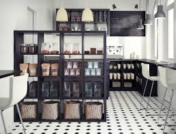... Interactive Furniture For Home Interior Decoration With Various Ikea  Free Standing Shelves Unit : Incredible Image ...