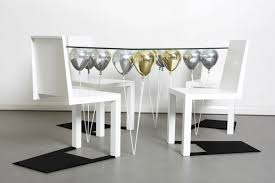 unusual dining furniture. Top Amazing White Floating Chairs False Shadow Contemporary Up Dining Table From Cool Tables Unusual Furniture