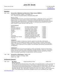 Physician Assistant Resume Inspirational Physician assistant Resume Templates joodeh 9
