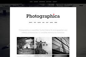 Tumblr Photography Themes Photographica Tumblr Theme Themelantic