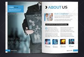 Brochure Templates For It Company Company Brochures 20 Awesome Designs With Templates