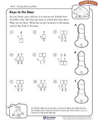 Awesome Fun Addition Worksheets For 2nd Grade Gallery - Worksheet ...