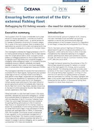 reflagging by eu fishing vessels the need for stricter standards   oceana
