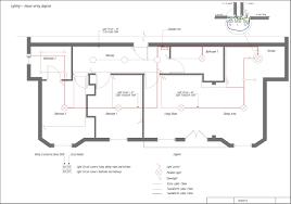 floor plan lights in electric house wiring diagram