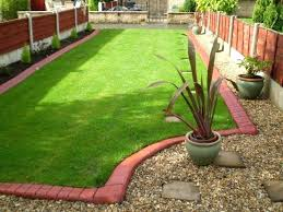 brick garden border brick red edge with dark brown brick imprint brick effect garden border brick garden border