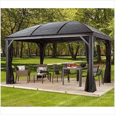 free standing patio cover kits. Gazebos Costco From Free Standing Patio Cover Kits, Take It With You When Buying Curtains Or Other Beautifying Resources Image Received From: Costco.com. Kits