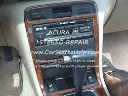 acura cl radio removal and repair 1997 1999 youtube  at 1997 Acura 3 0 Cl Radio Wiring Diagram With Color