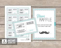 raffle sign little man baby shower printable diaper raffle tickets and sign my