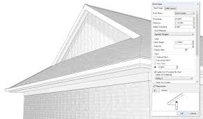 2016 roof gable end overhang