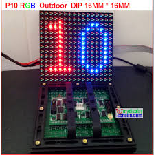 p10 led display module picture