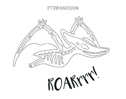 Dinosaur Bones Coloring Pages Skeleton Coloring Pages To Print