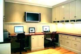 two desk home office. Two Person Desk Home Office 2 E