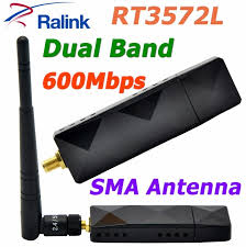 samsung tv antenna adapter. ralink rt3572 dual band 600mbps wireless wifi usb adapter with sma 5dbi external antenna for samsung tv 1